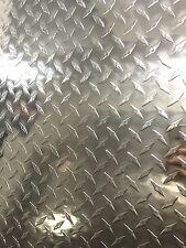 Lastra Lamiera Lamina in Alluminio Diamandata 1000x500mm spessa 1,5mm Fresa/Cnc