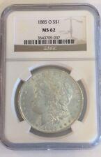 1885 O S$1 MS 62 NGC