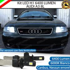 kIT FULL LED AUDI A3 8L LAMPADE LED H1 6000K XENON BIANCO NO AVARIA 6400 LM