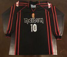 Rare Vintage Iron Maiden Futbol Soccer Jersey