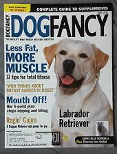 Dog Fancy Magazine 2001 June Labrador Retriever Kerry Blue Terrier Inca Orchid