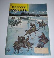 "December 1961 WESTERN HORSEMAN Magazine —  Cecil Smith ""Christmas Spirits"" Cover"