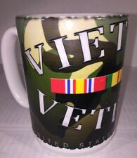 Vietnam Nam Veteran Camouflage Coffee Cup Mug Made In The USA