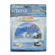 DVD VCD Player Laser Head Lens Cleaner Dry Wet Disc Scratch Repair Cleaning Kit