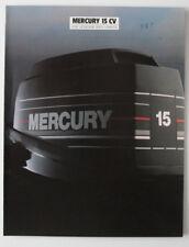 MERCURY OUTBOARD 15CV 1988 dealer brochure - French - Canada - ST501000318