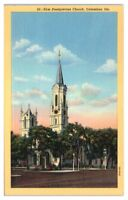 First Presbyterian Church, Columbus, GA Postcard *203