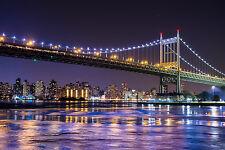 Impresionante ciudad de Nueva York #492 Colgante De Pared Imagen Arte Lona A1