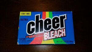 CHEER Bleach Laundry Detergent Sample 1993 NOS - Movie Props Vintage 3.4 oz