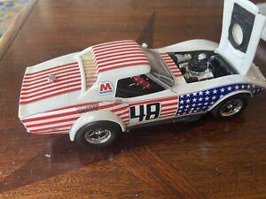 PRO BUILT Rare & Vintage 1/25 Scale MPC? 1973 Corvette  Great Detail MINT!