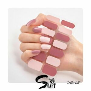 DIY Nail Salon Feminine Ballerina Rose Cream Blush Pink Wrap Sticker DQ015