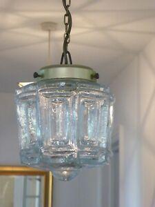 Vintage Hanging Glass Lantern