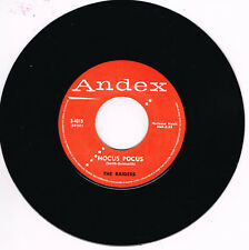 THE RAIDERS - HOCUS POCUS / YOO HOO (Killer ROCKABILLY repro - Top JIver )