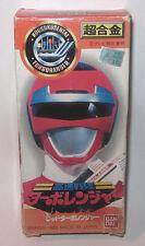 1989 Bandai Power Rangers Sentai Turboranger Red Ranger Boxed Turbo Rangers