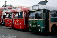 London Transport RF's 392,503,672 Richmond 18th March 1978 Bus Photo