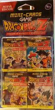 BLISTER DRAGON BALL Z WITH 4MNI CARDS BOX GAMES