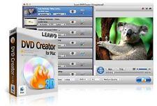 Leawo DVD Creator FOR MAC {AVI MP4 WMV MKV HD to DVD Burner Converter 1080p NEW}