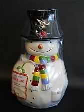 Snowmates Oneida Debbie Taylor-Kerman Snowman Cookie Jar Kitchen Christmas Decor