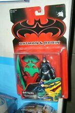BATGIRL BATTLE BLADES STRIKE SCYTHE ACTION FIGURE KENNER BATMAN&ROBIN
