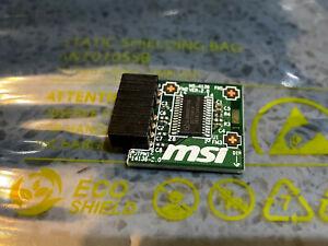 MSI TPM 2.0 Motherboard Module MS-4136 (12-1 pin) 14 pin Windows 11 Ready JTPM1