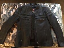 Interstate Leather Men's Scooter Jacket - I5373 SIZE MEDIUM USED
