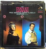 THOMAS SCHIPPERS verdi ernani 3 LP Mint- LSC-6183 RCA Stereo USA WD 1968 w/Book