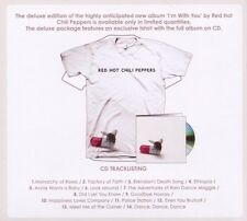 RED HOT CHILI PEPPERS - I'M WITH YOU  CD + T-SHIRT L NEUWARE