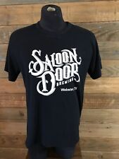 Saloon Door Brewing Brewery Webster Texas T-shirt Men's Large