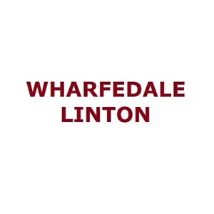 """Wharfedale Linton Pair of Heritage Bookshelf Speakers with Stands 8"""" 3-Way"""