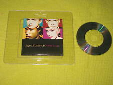 Age of Chance Time's Up – 3 Inch CD 1989 Virgin (DEPX 34) Synth Pop Rock