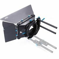FOTGA DP3000 M3 Swing Away Matte Box Donut Sunshade For 15mm Rod Rail DSLR Cam