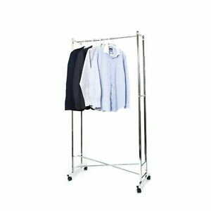 Folding Clothes Rail, Commercial Grade - Easy to Fold from Pristine®