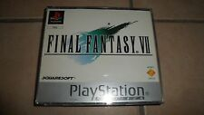 Jeu PS1 Playstation 1 FINAL FANTASY VII 7 - BE - sans notice