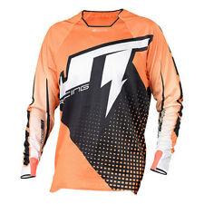 JT RACING Motocross Jersey 2015 HYPER LITE VOLTAGE schwarz-orange-weiss XL 16186