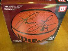 Lisa Leslie Signed Basketball Wnba Los Angeles Sparks Usc Celebrity Apprentice