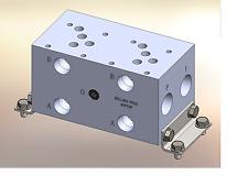 Hydraulic manifold A5P23P // AD05P023P // BM-ASP05P3-02-1/Z // BAO5GPS02NDUAAAA