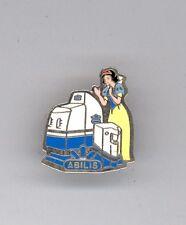 Euro Disney Paris Disneyland Princess Snow White Sponsor Abilis 1990s Pin