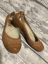 Seasalt brown shoes UK size 5 EU 38 Slip Ons Flats Comfy Summer Butterscotch