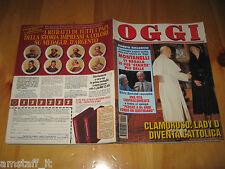 OGGI 1994/4=PAPA WOYTILA LADY DIANA=ASIA ARGENTO=KIM BASINGER=MICHAEL JACKSON=