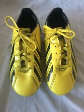 Adidas Football Boots F10 F 50 Traxion Size Uk 1 / FR 33