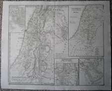 1850 Spruner historical map PALESTINE (#18)
