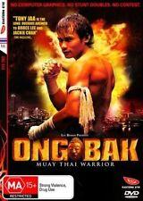 ONG BAK: - - - MUAY THAI WARRIOR - - - - - 2 DVD SET, TONY JAA, LUC BESSON
