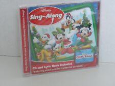 Disney Christmas Sing Along CD, 8 Vocal Version and 8 Instrumental Version
