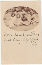 CGH: Postcard, Some Bead Sellers, Hout Bay, 22 March 1905