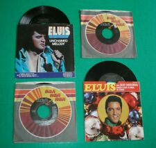 ELVIS PRESLEY - Unchained Melody (PB-11212) w/Pic. Sleeve + 3 Other 45's