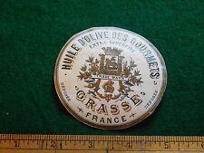 1870s-80s Huile D'Olive Des Gourmets Grasse France Victorian Paper Labels L10