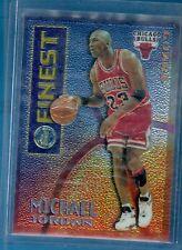 Michael Jordan 1995-96 Topps Mystery Finest Borderless Card#M1! Bulls  GOAT HOF