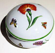 Limoges France Trinket Box Tiffany & Co. Tiffany Garden Butterflies Flowers