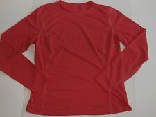 Arc'Teryx Women Base Layer Top L/S Shirt 40 102 CM Melon Salmon Sheer Arcteryx