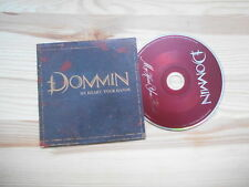 CD Metal Dommin - My Heart, Your Hands (1 Song) Promo ROADRUNNER