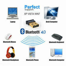 Nuevo Bluetooth CSR 4.0 Mini 3 Mbps USB Adaptador Dongle Inalámbrico Doble para XP 7 8 10